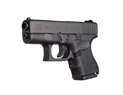 Glock 26 Gen 4 9mm Pistol With Glock Night Sights, Black