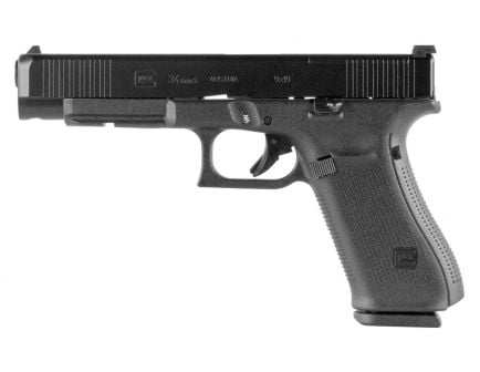 Glock 34 Gen 5 FS MOS 10 Round 9mm Pistol | Black
