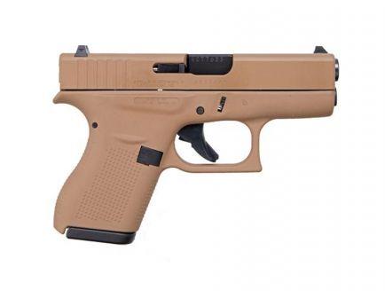 "Glock 42 .380 ACP 3.26"" Pistol, Flat Dark Earth"