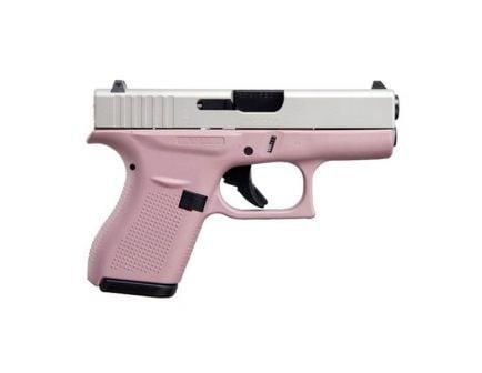 Glock 42 .380 ACP Pistol, Pink Cerakote