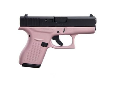Glock 42 .380 Pistol, Pink/Black
