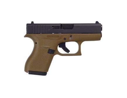 Glock 42 .380 ACP Pistol, Flat Dark Earth - UI4250201DE