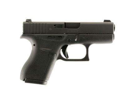 Glock 42 .380 ACP Pistol with Night Sights, Black - UI4250701