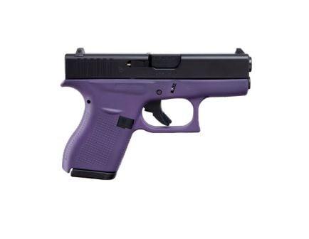 Glock 42 Semi Automatic .380 ACP Pistol, Purple/Black