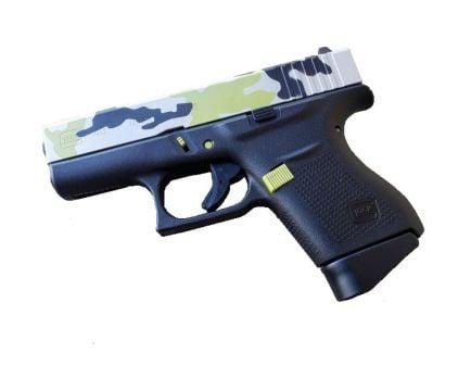 Glock 43 9mm Pistol, Mojito Camo