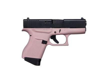 Glock 43 9mm Pistol, Pink Frame