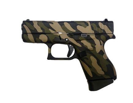 Glock 43 9mm Pistol, Tilted Mil Camo