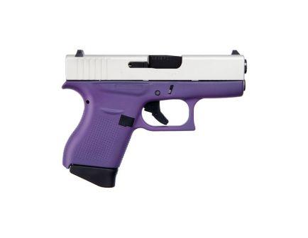 Glock 43 Subcompact 9mm Pistol, Purple Frame