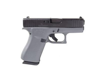 Glock 43X 9mm Pistol, Concrete Gray