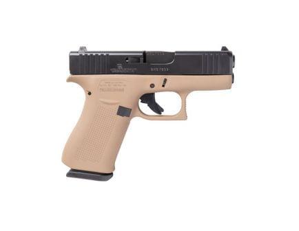 Glock 43X 9mm Pistol, Dark Desert Earth
