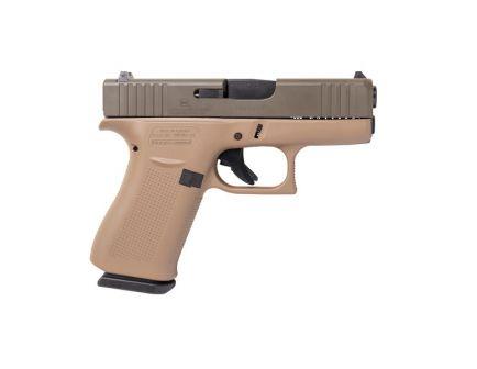 Glock 43X 9mm Pistol, Flat Dark Earth