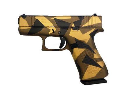 Glock 43X FS 9mm Pistol, Bronze Splinter