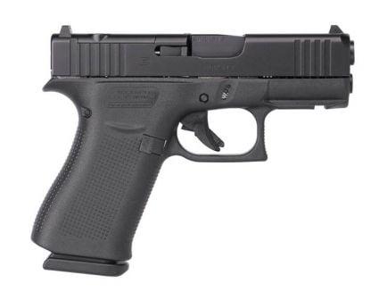 Glock 43X FS MOS 9mm Pistol, Black