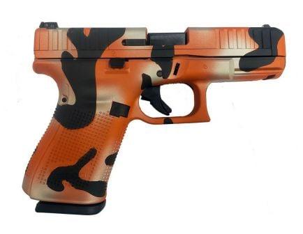 Glock 44 Semi-Automatic .22 LR Pistol, Orange Camo
