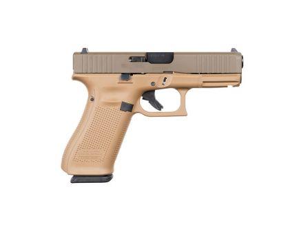Glock 45 FS 9mm Pistol, Dark Earth Patriot Brown