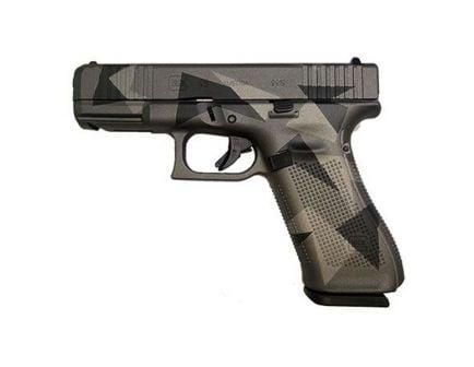 Glock 45 FS 9mm Pistol, Gray Splinter