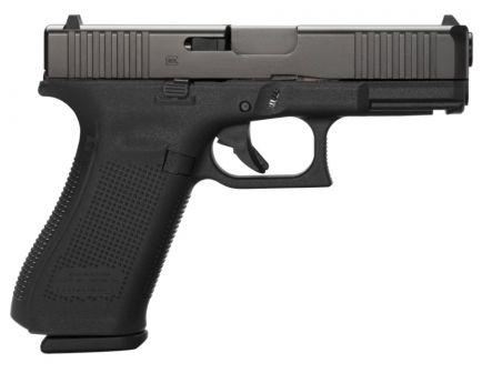 Glock 45 Gen 5 FS 9mm Pistol, Black