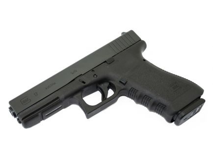 Glock 17 Gen 3 9mm Pistol, Black - PI1750203