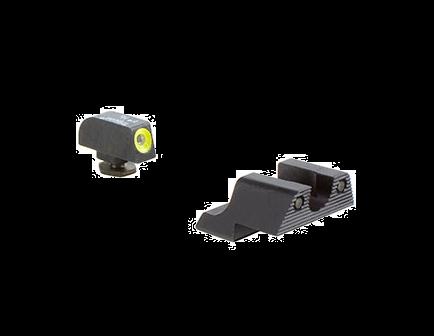 Glock 42 HD Night Sight Set-Yellow Front