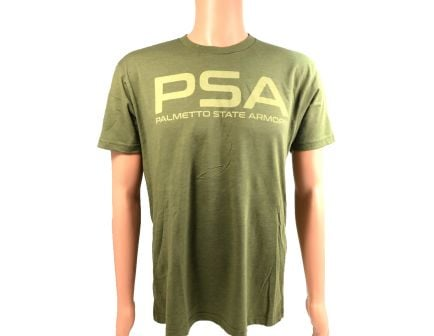 PSA Smooth Text Logo Tee, ODG