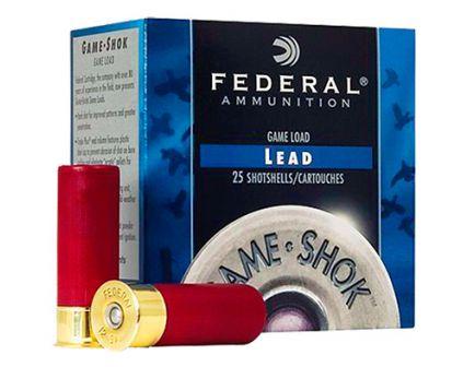 "Federal 12ga 2.75"" 3.75DE 1.25oz #7.5 ""Game-Shok"" HB Lead Shotshell Ammunition 25rds - H126 7.5"
