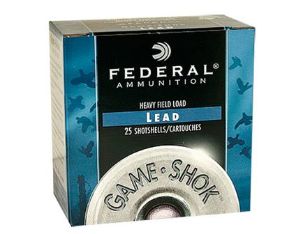 "Federal 20ga 2.75"" 7/8oz #7.5 ""Game-Shok"" Game Load Shotshells 25rds - H200 7.5"