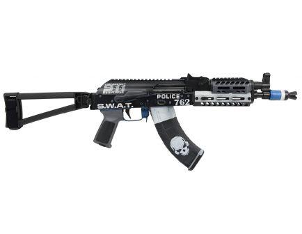 "PSA Custom 7.62x39mm AKP ""SWAT"" Billet Handguard Folding Triangle Brace Pistol w/ ALG AKT EL Trigger"