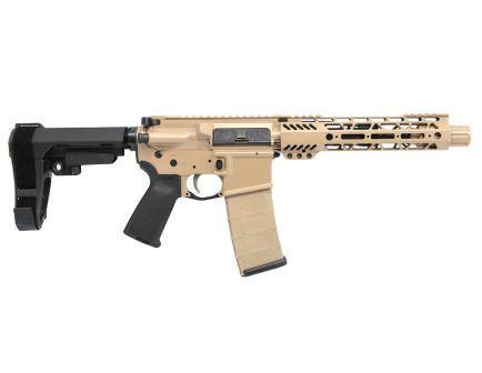 "PSA Custom .300 BO 7.5"" Nitride 9"" Cross Cut M-LOK MOE EPT SBA3 Pistol - TAN"