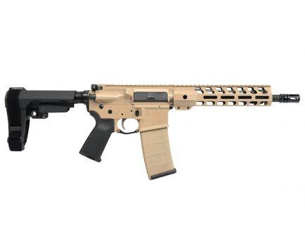 "PSA Custom 5.56 NATO 10.5"" Nitride 9"" Limited Edition Handguard MLOK MOE SBA3 EPT Pistol w/ Black Furniture"