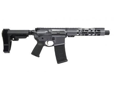 """PSA Custom 5.56 NATO 7.5"""" Nitride 9"""" Slim-Line MLOK MOE EPT SBA3 Pistol - Grey"""