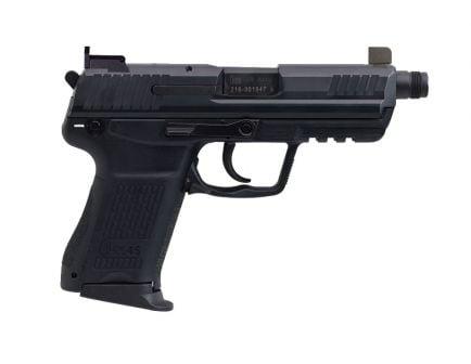H&K HK45 Compact Tactical V7 LEM DAO TB .45 ACP Pistol, Black