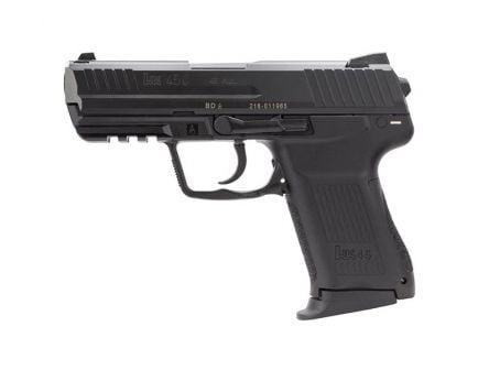 H&K HK45 Compact V7 LEM DAO .45 ACP Pistol, Black
