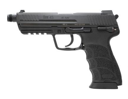 H&K HK45 Tactical V1 DA/SA .45 ACP Pistol | Black
