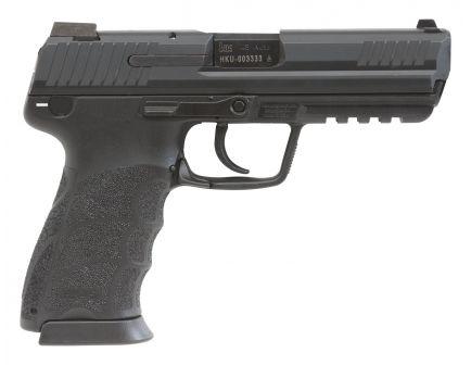 H&K HK45 V7 LEM DAO 10 Round .45 ACP Pistol, Black