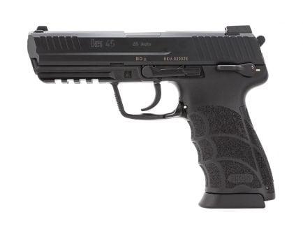 H&K HK45V1 DA/SA .45 ACP Pistol With Safety/Decocker, Black
