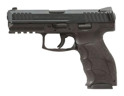 H&K VP40 .40 S&W Pistol With Night Sights, Black