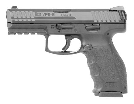 "H&K VP9-B 4.1"" 9mm Pistol With Push Button Magazine Release"