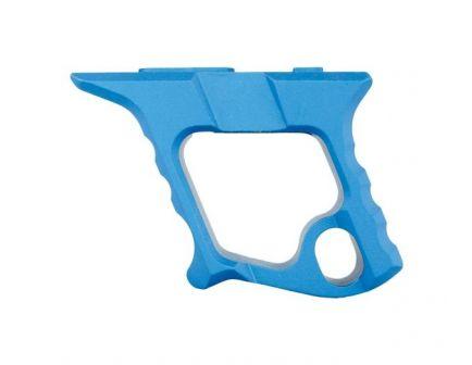DISC   Tyrant CNC HALO AR Handstop (MLOK+KeyMod), Blue  -  TD-772-MK-B