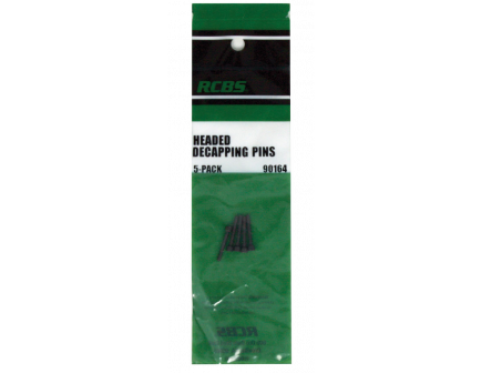 RCBS - Headed Decapping Pins 5pk - 90164