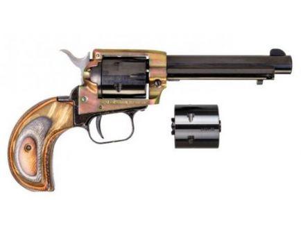 "Heritage Rough Rider 22LR/22WMR Pistol 6rd 3.5"", Grn Camo -  RR22MCH3BHGC"