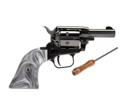 "Heritage Rough Rider Barkeep 2"" .22 LR Revolver With Custom Gray Pearl Grips"