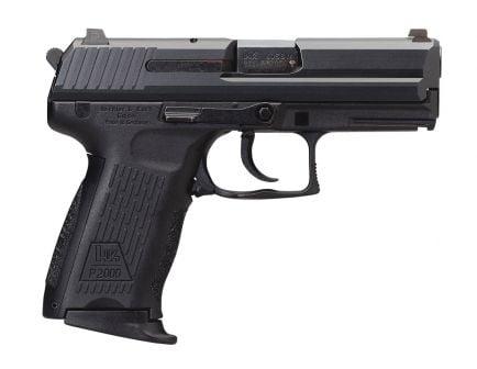 HK P2000 V3 DA/SA 10 Round .40 S&W Pistol | Black