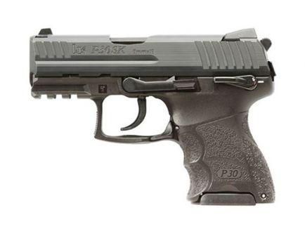 HK P30SK V3 DA/SA 9mm Pistol, Black - 81000545