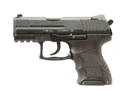 HK P30SK V3 DA/SA Rear Decocker 9mm Pistol | Black