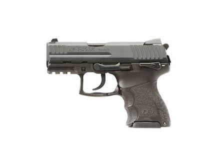 HK P30SK V3 SA/DA 9mm Pistol With Rear Decocker, Black
