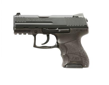 HK P30SK (V3) 9mm Pistol, DA/SA Rear Decocking Button