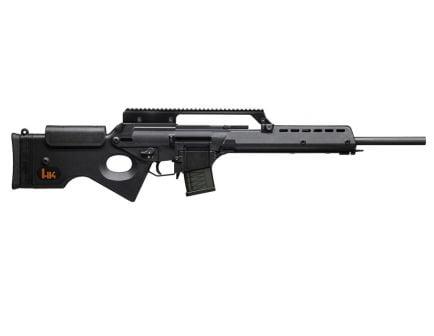 HK SL8 Semi Automatic .223 Remington Rifle, Black