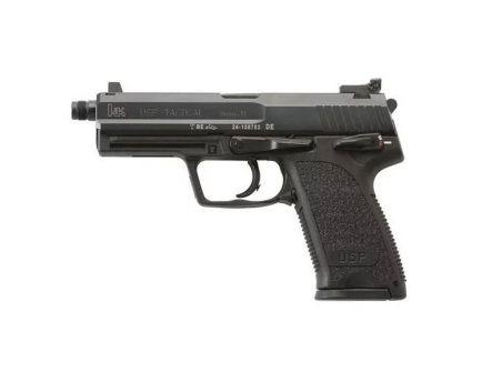 HK USP Tactical V1 10 Round DA/SA 9mm Pistol, Black