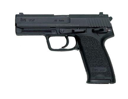 HK USP45 V1 .45 ACP Pistol, Black