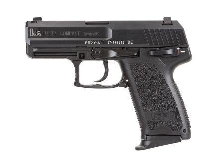 HK USP9 Compact V1 DA/SA 9mm Pistol, Black